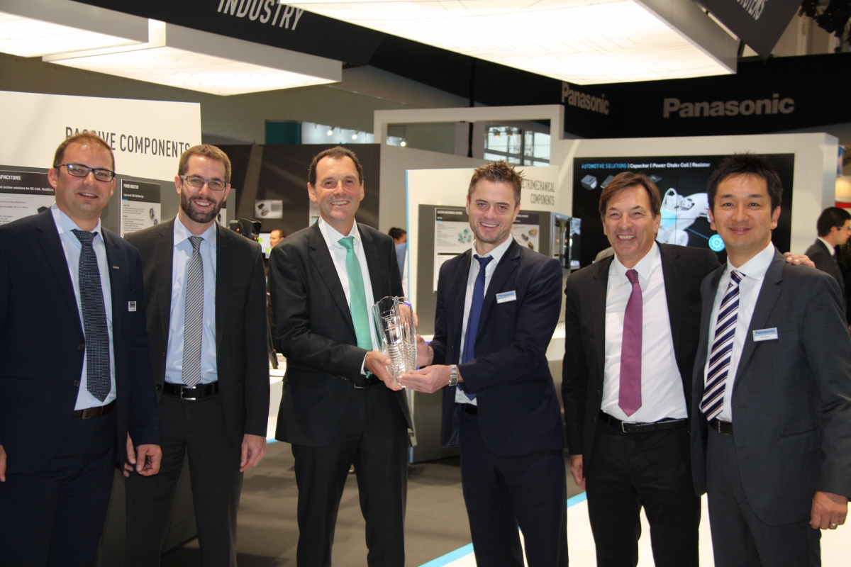 Panasonic honours Arrow, Mouser and Codico in 2016 Distribution Awards