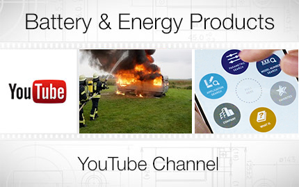 Panasonic Industrial Batteries Youtube Channel