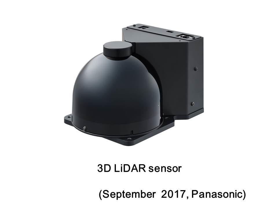 Panasonic Develops 3D LiDAR Sensor Enabling | Panasonic Industry Europe