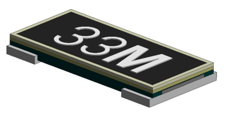 ERJMP2, ERJMP3, and ERJMP4 current sensing resistors
