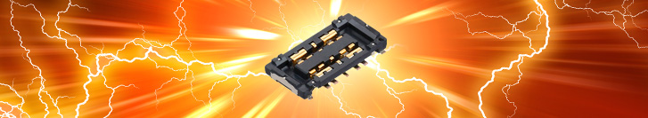 Panasonic new B01 connector series for safe power transmission