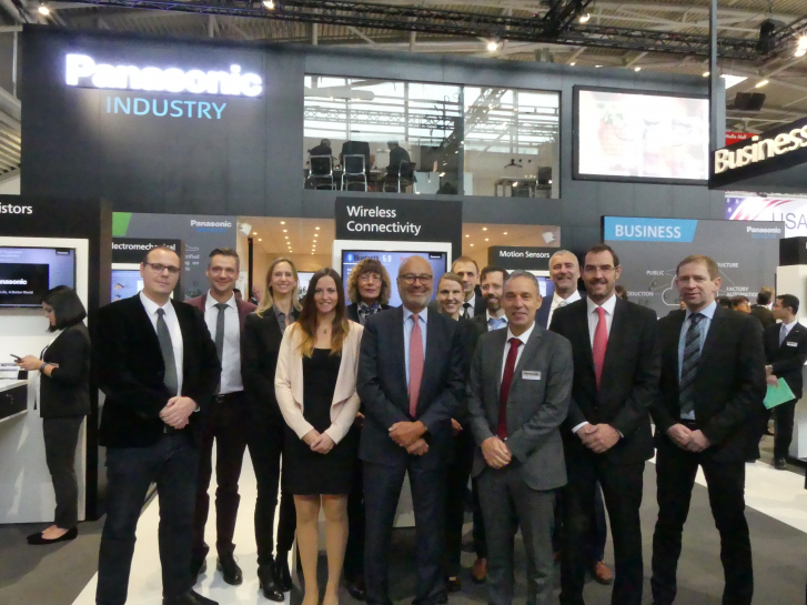 Buerklin  Elektronik cooperation with Panasonic Industry