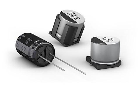 Aluminium Electrolytic Capacitors SMD SMT Radial THT