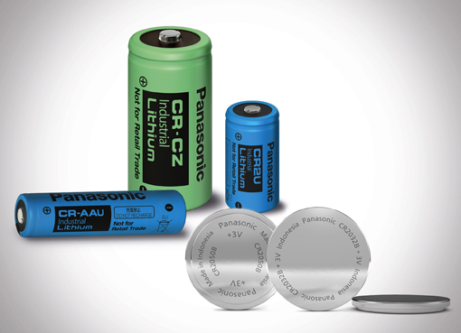New lithium primary batteries from Panasonic: The market leader has developed new button cells and cylindrical models for high- and low-temperature applications