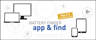Panasonic Battery Finder 2.0 image