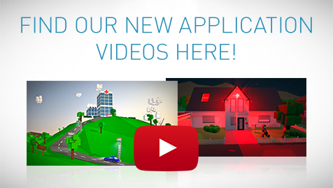 Find our new application videos here