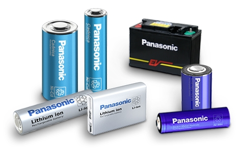 Panasonic secondary batteries