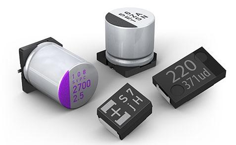 Panasonic Polymer Capacitor SP-Caps OS-CON POS-CAP Polymer Hybrid