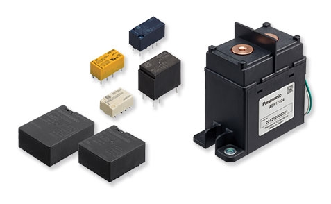 Power Relays, Signal Relays, and DC-Cutoff Relays