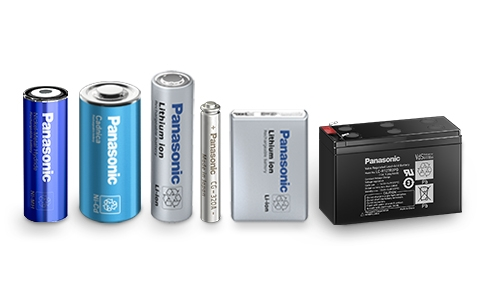 Panasonic secondary (rechargeable) batteries