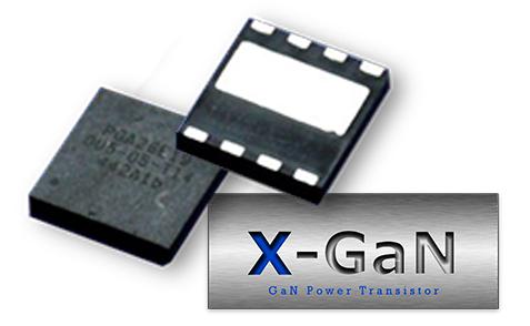 X-GaN tile