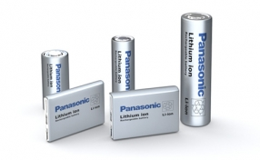 Panasonic Li-Ion Batteries Range Image