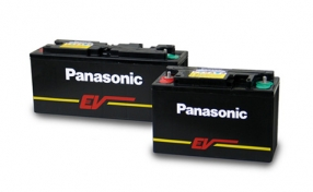 Panasonic VRLA Electric Vehicle EV battery Image
