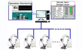 robot and welding Production Monitoring Function picture
