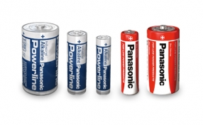 Panasonic Alkaline Zink Carbon battery line-up