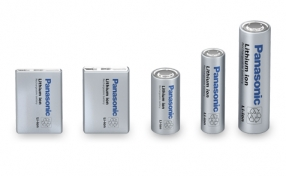Panasonic Li-Ion Batteries Line-up