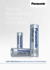 Panasonic Short-Form-Catalog for batteries