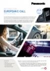 Panasonic Ni-MH Leaflet e-call EN