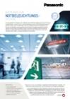 Panasonic Ni-MH batteries leaflet - Emergency lighting DE