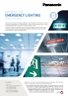 Panasonic Ni-MH batteries leaflet - Emergency lighting EN