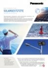 Panasonic Ni-MH batteries leaflet - Solar power DE