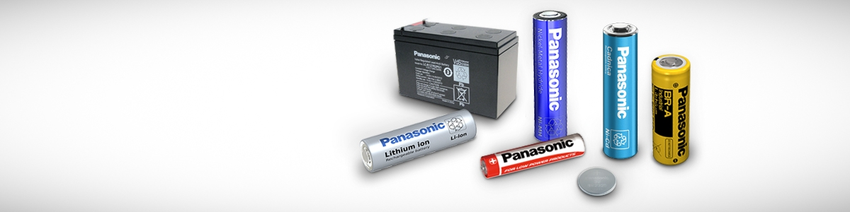 Panasonic Header Image batteries