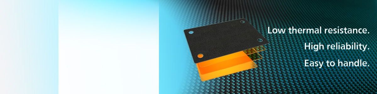 Panasonic Soft-PGS Thermal Interface Material for IGBT Modules