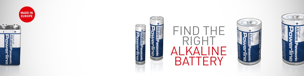 Panasonic Alkaline batteries new packaging