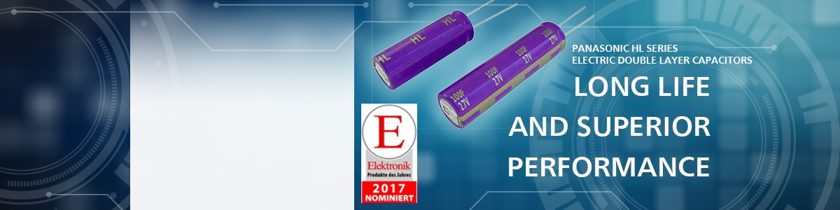 Panasonic HL capacitors