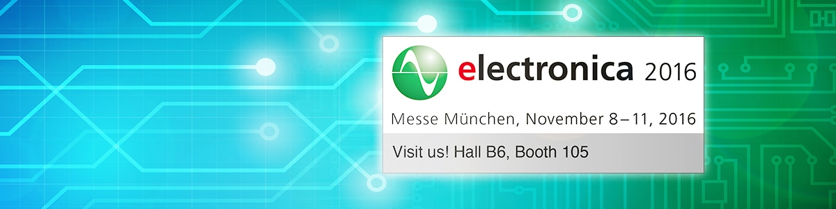 Panasonic at electronica 2016