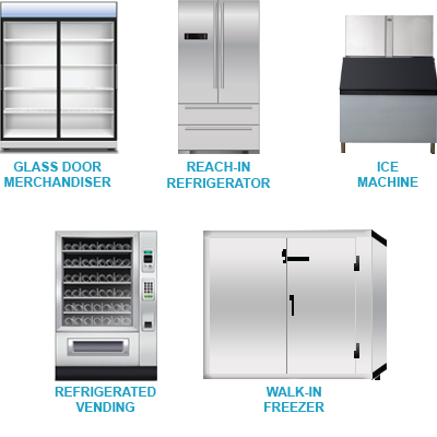 Panasonic components inside commercial refrigeration solutions